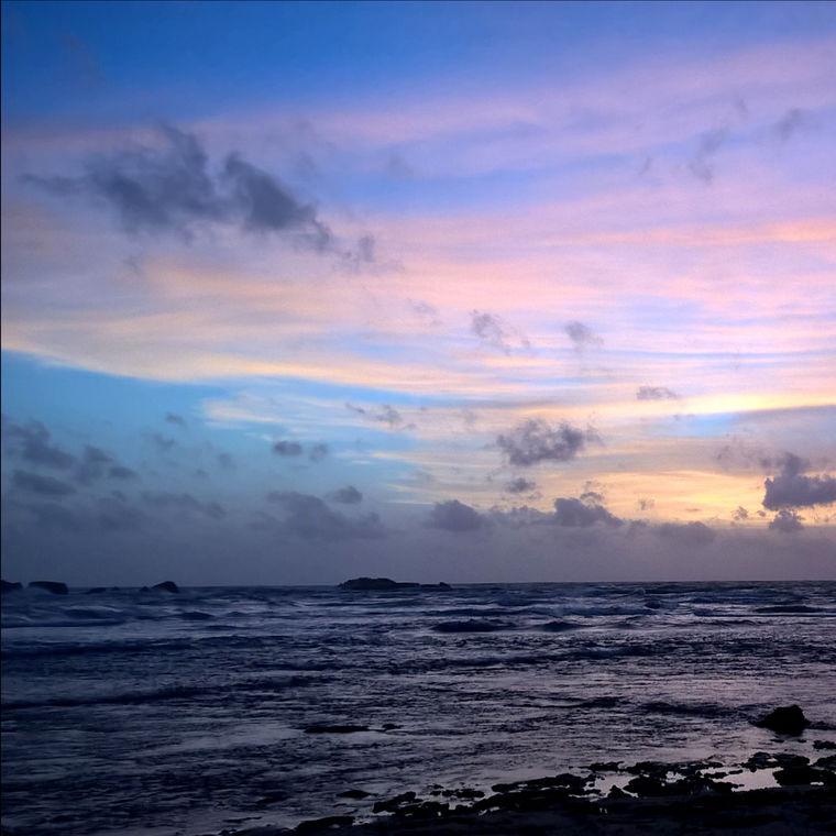 Sunset at Hikkaduwa