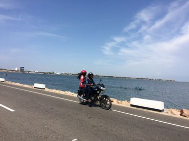 Riding the Causeway