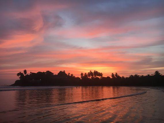 Sunset at Bonavista Beach