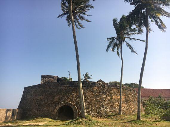 Чёрный бастион Форта Галле