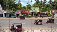 Tuk-tuks on the Road